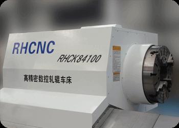 CNC roll lathe-RHCK84100-Bed head unit
