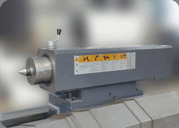 CNC roll lathe-Tailstock unit