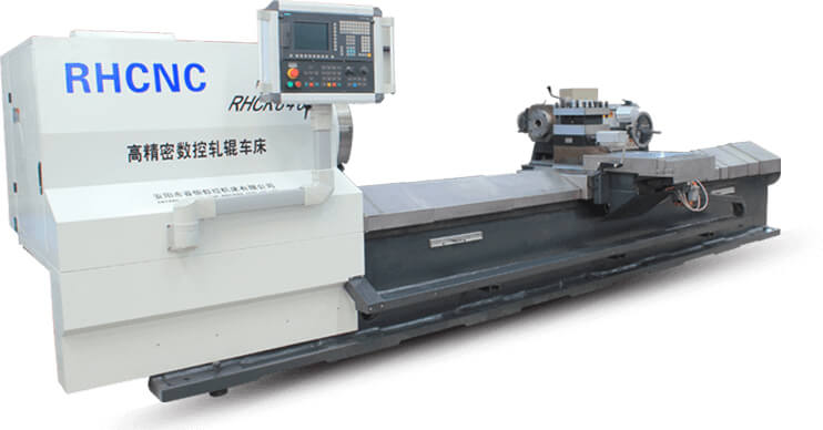 RHCK8480 Mill Roll CNC Lathe