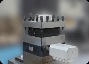 CNC roll lathe-RHCK8450-Turret unit
