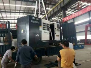 Roller Ring CNC Turning Lathe