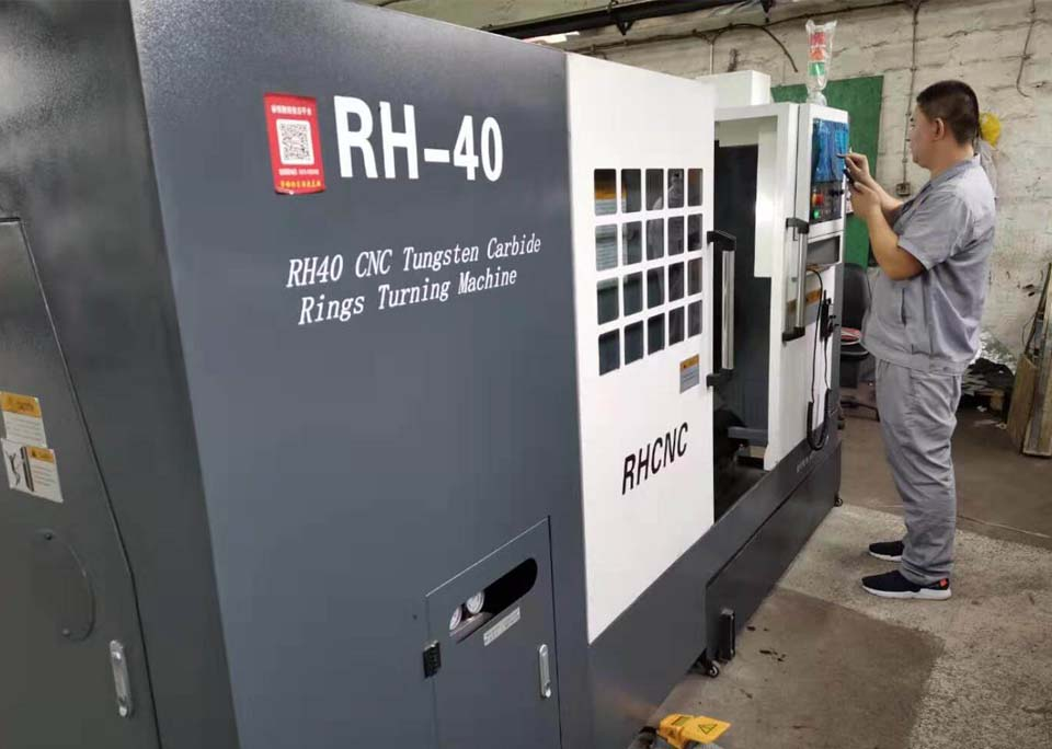 RH40 Tungsten Carbide Rings Machine